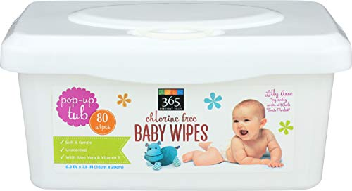 365 Everyday Value, Baby Wipes, 80 ct