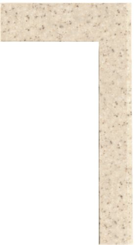 Swanstone TK-105-040 Solid Surface 6-pieces Shower Trim Kit, 0.25-in L X 3.875-in H X 105-in H, Bermuda Sand