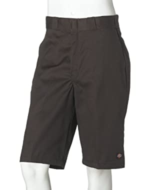 Dark Brown Multi Pocket Work Walkshort (32