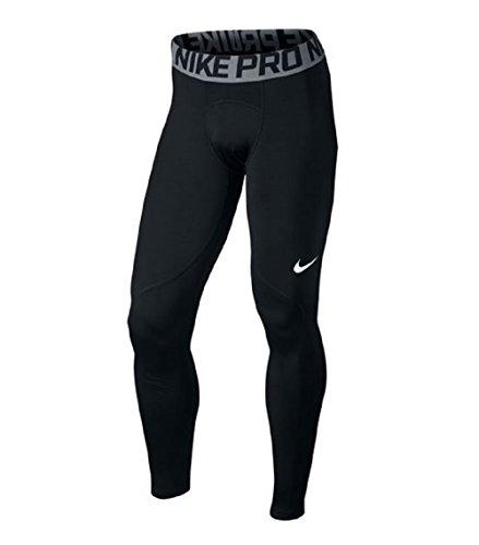 Nike M Np Wm Tght Aop - Mallas para hombre Black/Cool Grey/(White)