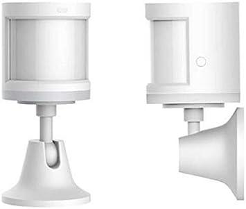 Bainuojia Smart Home Aqara Dispositivo de Seguridad con Sensor de Movimiento Humano, conexión inalámbrica Zhijia ZigBee, Distancia de detección de 7 Metros: Amazon.es: Bricolaje y herramientas