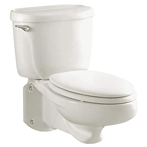 American Standard 2093100.020 Glenwall  Pressure Assisted Wall-Mounted Toilet, 1.6 gpf, White