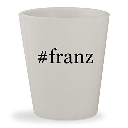 #franz - White Hashtag Ceramic 1.5oz Shot - Franz Mykita