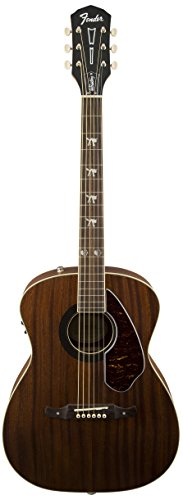 Fender Tim Armstrong Hellcat Acoustic Guitar, Natural (Armstrong Acoustic Tim)