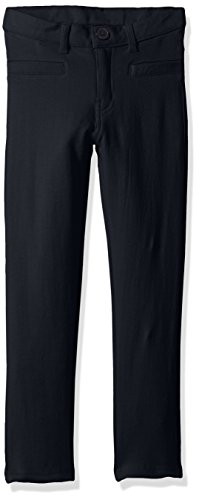 French Terry Pants Girls - US Polo Assn Girls' Little Stretch French Terry Moleton Pant (More Styles Available), Navy 4