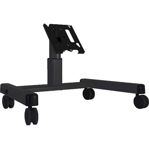 MFQUB 2' Mobile Monitor Cart Confidence Monitor Cart