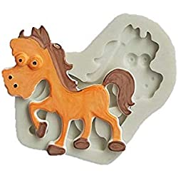 1 piece Cake Tools Cut Elephant Horse Giraffe siliconecakemold Decorating Cupcake Decorating Gumpaste Fondant Tool Mould