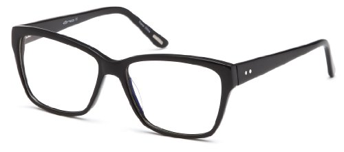 Womens Wayfarer Glasses Frames Black Prescription Eyeglasses Rxable - Eyeglass Black Frames