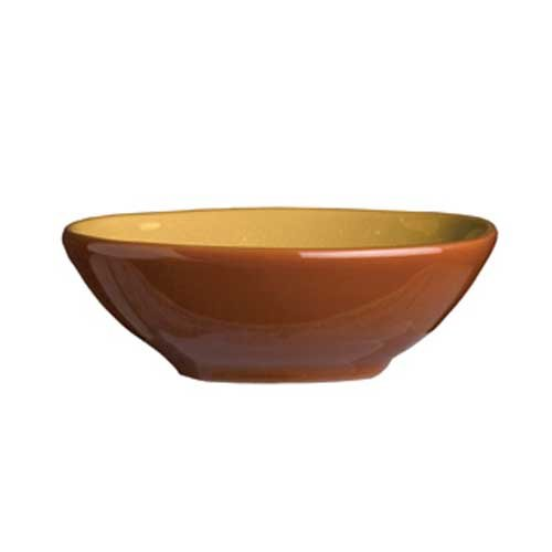 Syracuse China Terracotta Mustard Seed Bowl, 4 Ounce -- 36 per case. (Genuine Mustard Seed)