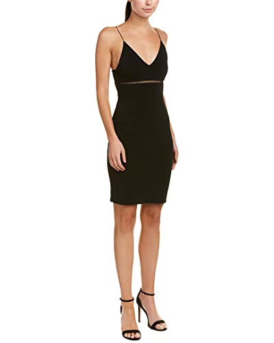 Womens Sheath Blend Dixon Dress alice olivia Black Silk 4 5xHnIqXv