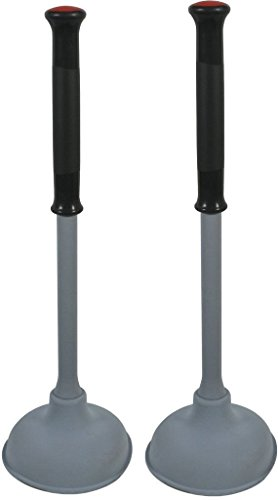 Rubbermaid Reveal Plunger Clean and Dry 2Pk