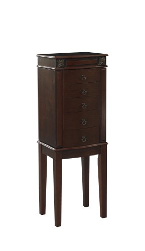 Linon Home Decor Calla Jewelry Armoire