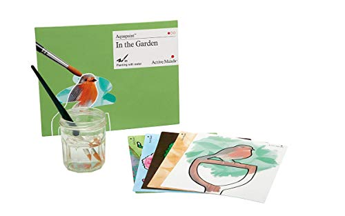 in The Garden Aquapaint - Reusable Water Painting by Active Minds | Specialist Alzheimer's/Dementia Art Activity w/Five Painting Designs