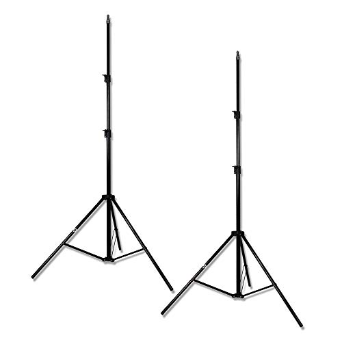 PBL Light Stands 7 ft Studio Photo Video Set of 2 Steve Kaeser Photographic Lighting from PBL