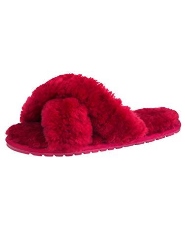 Fucsia Eu Rosso Emu 40 donna Pantofole da qZxnPv7