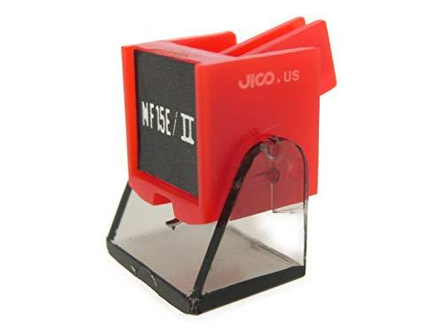 [해외]JICO 레코드 바늘 Ortofon NF-15EII. 교환 바늘 다 바늘 242-NF15EII. / Jico record needle Ortofon NF-15EII Replacement needle Darien Needle 242-NF15EII.