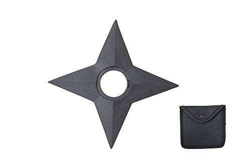 UPC 608866637028, Black Rubber Training Throwing Star 3 Pieces Set
