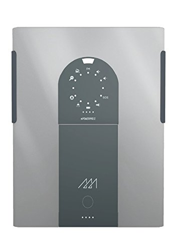 mPowerpad 2 xPlore solar charger - Metallic Silver by Third Wave Power