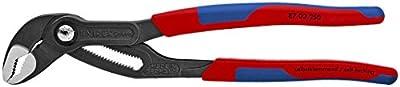 Knipex 8702250 10-Inch Cobra Pliers - Comfort Grip