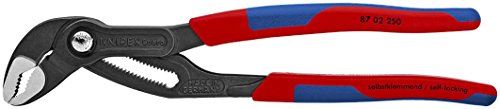 (Knipex 8702250 10-Inch Cobra Pliers - Comfort Grip)