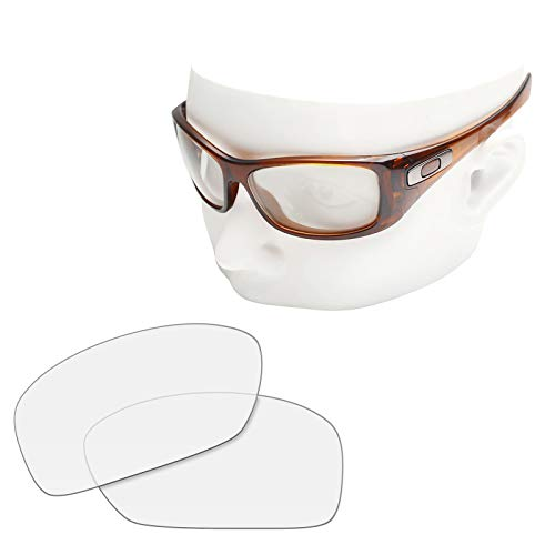 OOWLIT Replacement Sunglass Lenses for Oakley Hijinx HD Clear Non-polarized -