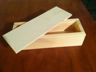 Wooden Soap Mold to Make 4-5 Lb Loaf by Toughtimbers