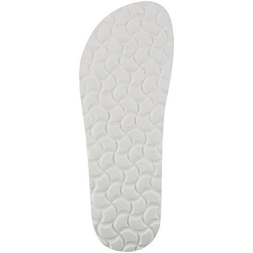 Sanosan Geneve Ladies Toe Post Sandals Sanoflor White GJFT6