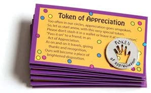 Set of 10 Tokens of Appreciation and Cards