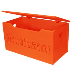 Name Engraved Orange Toy Box - Primary Letters  sc 1 st  Amazon UK & Name Engraved Orange Toy Box - Primary Letters: Amazon.co.uk ... Aboutintivar.Com