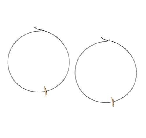 Laura Lee Jewellery femme  Argent 925/1000  Argent|#Silver      FINEEARRING