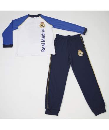10XDIEZ Pijama NIÑO Real Madrid CAMPEONES 206N - Medidas Albornoces - 16: Amazon.es: Hogar