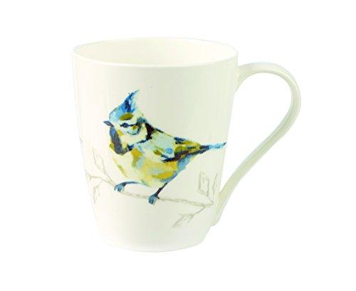 Harlequin Coffee (Churchill China Harlequin Persico Turquoise Fine Bone China Gift Coffee Tea Mug With Gift Box)