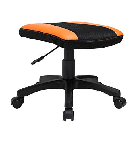 - Video Gaming Chair Stool Adjustable Ottoman Footstool Seat Swivel Office Chair