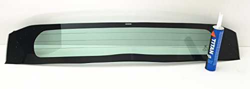 2010-2015 Toyota Prius 4 Door Hatchback Lower Rear Back Window Glass Heated OEM Look (Window Rear Look)