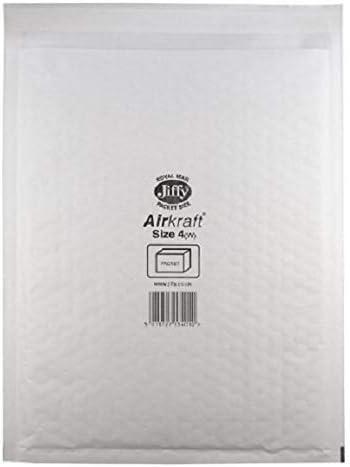 Jiffy Airkraft color blanco ligeros, con burbujas en el interior, para papel A3, 50 unidades, tama/ño 7, 340 x 445 mm Sobres