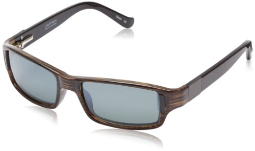 Switch Bespoke Polarized Rectangular, Olive & Black Temples, 58 mm