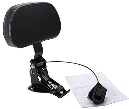 Detachable Adjustable Driver Rider Backrest Sissy Bar for Electra Glide Street Glide Ultra CVO FLHR FLHX FLTRX 2009-2018