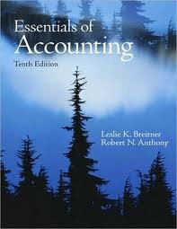 Essentials of Accounting 10th (tenth) edition