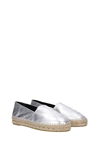 Kenzo Espadrilles Women - Leather (L532ES180K62) UK Silver 4IlAo