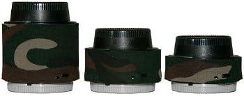 LensCoat LCNEXIIFG Nikon Teleconverter Set Forest Green Camo