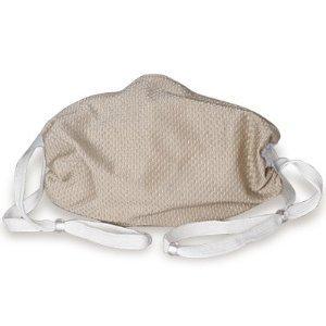 Breathe Healthy (Child Size) Honeycomb Beige Face Mask - Kids Dust/Allergy Mask, Kids Flu mask - 2 Pack Deal!