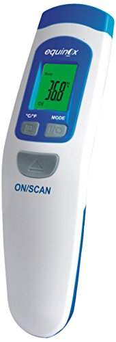 Equinox EQ-IF 02 Infrared Thermometer (White/Blue)