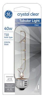 45514 40 Watt Claro Tubular 5 Pack