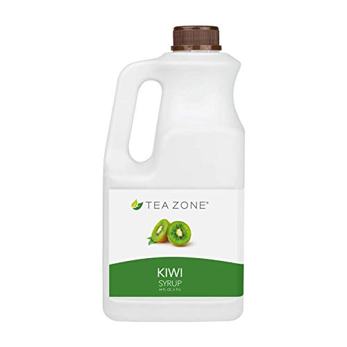 Tea Zone 64 fl.oz Kiwi Syrup -