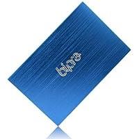 (2 Year Warranty by Trio Digi) 1TB 2.5 inch USB 2.0 NTFS Portable Slim External Hard Drive - Blue