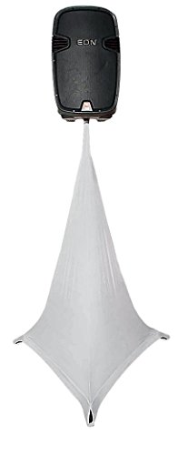 Scrim King Triple Sided Speaker Stand Scrim, White by Scrim-King