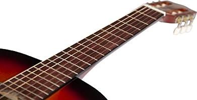 Guitarra clásica Stretton Payne de tamaño completo 4/4 (99 cm ...