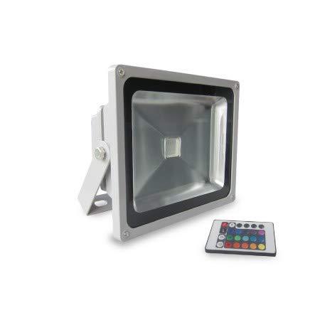 Evila - Proyector rgb led ultrabrillo 30w 230v ip65: Amazon.es ...
