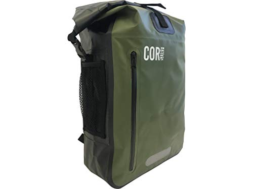 Waterproof Backpack - by Cor Surf   With Padded Laptop Sleeve   25L and 40L    87a9dbe562