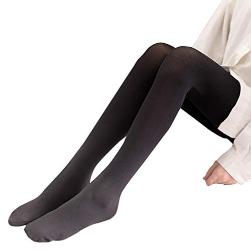 Women's Sheer Opaque Thigh-High Stockings for Christmas]()